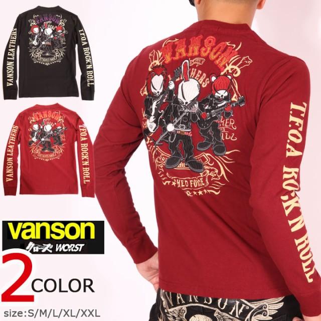 VANSON クローズ WORST T.F.O.A ROCK'N ROLL 刺繍...