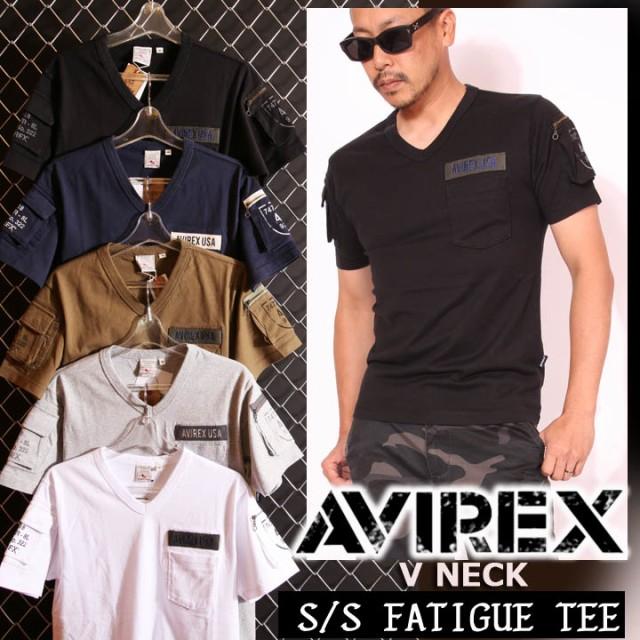 アビレックス AVIREX ファティーグ 半袖 Tシャツ...