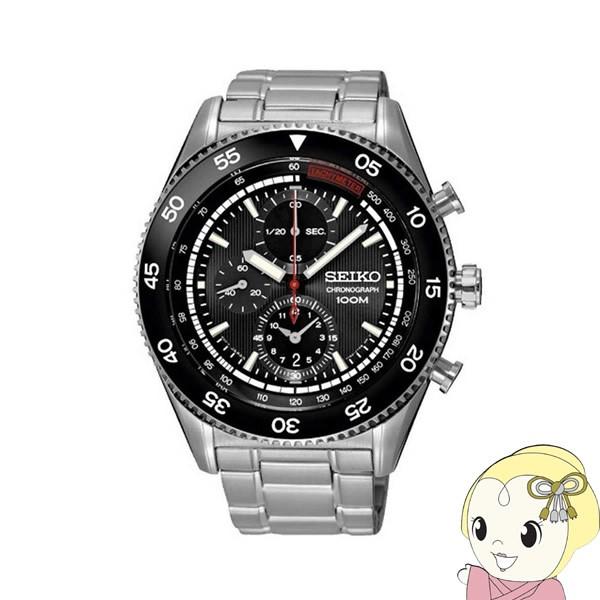 【逆輸入品】 SEIKO クォーツ 腕時計 クロノグラフ SNDG57P1