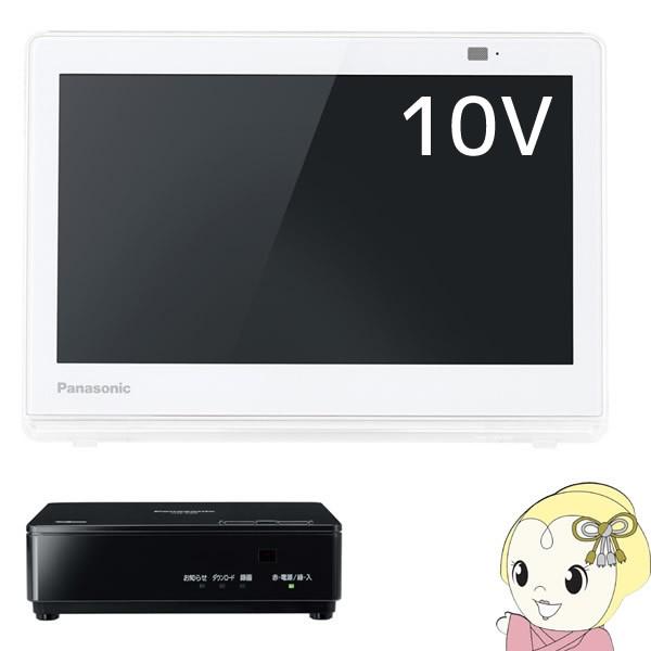 UN-10E8-W パナソニック 10V型ポータブルテレビ ...