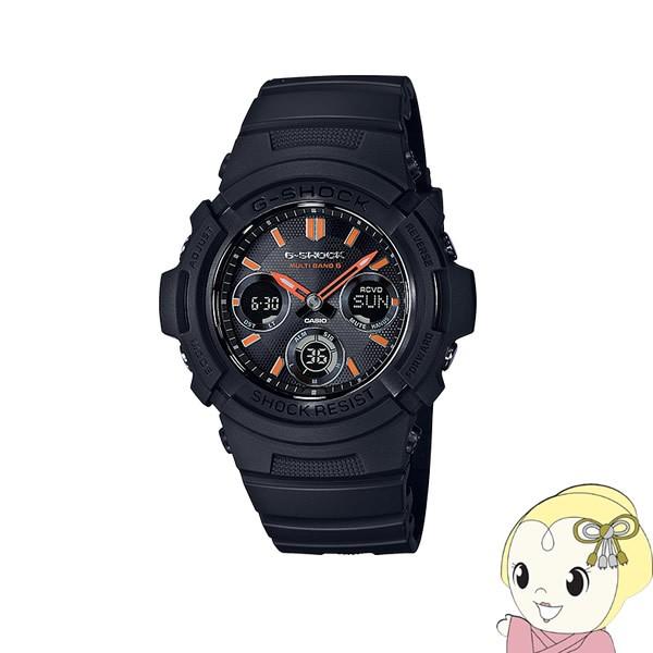 在庫あり 【逆輸入品】 カシオ 腕時計 G-SHOCK FIRE PACKAGE 限定モデル 電波ソーラー AWG-M100SF-1A4