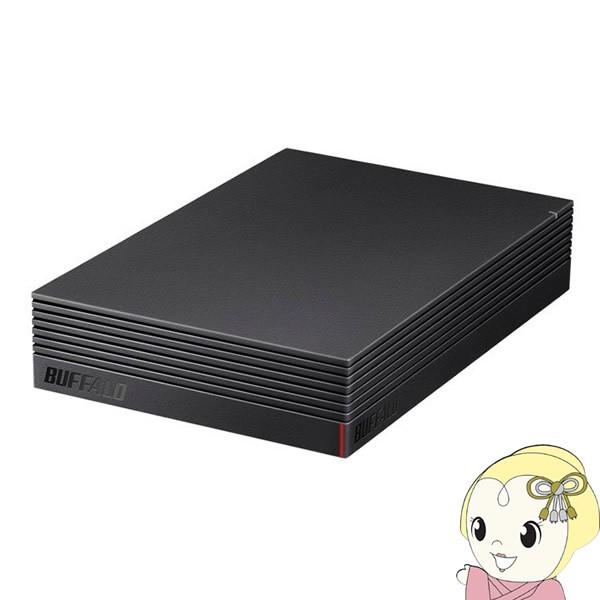 在庫あり BUFFALO 4K対応 外付けHDD USB3.1(Gen1...