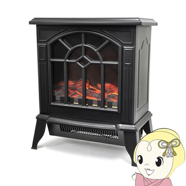 【在庫あり】VS-HF3201-BK ベルソス 暖炉型ファン...