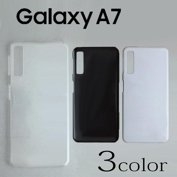 Galaxy A7 ケースカバー 無地 スマートフォンケー...