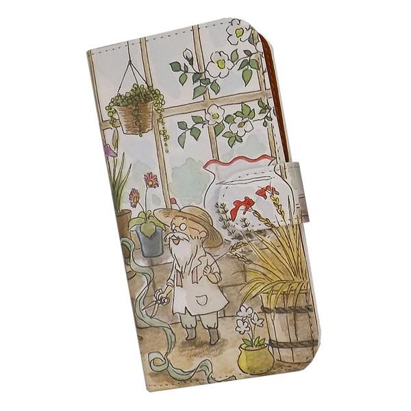 スマホケース 手帳型 iPhone プリントケース みは...