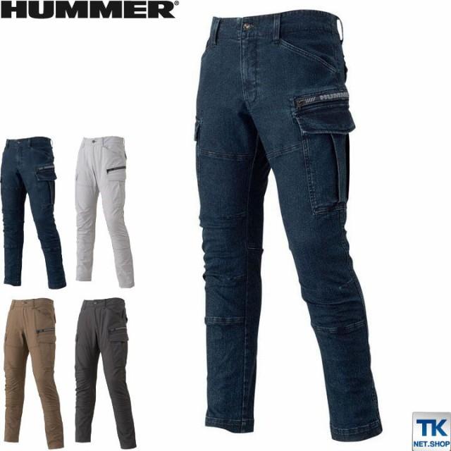 ストレッチカーゴパンツ HUMMER ハマー カーゴ パ...