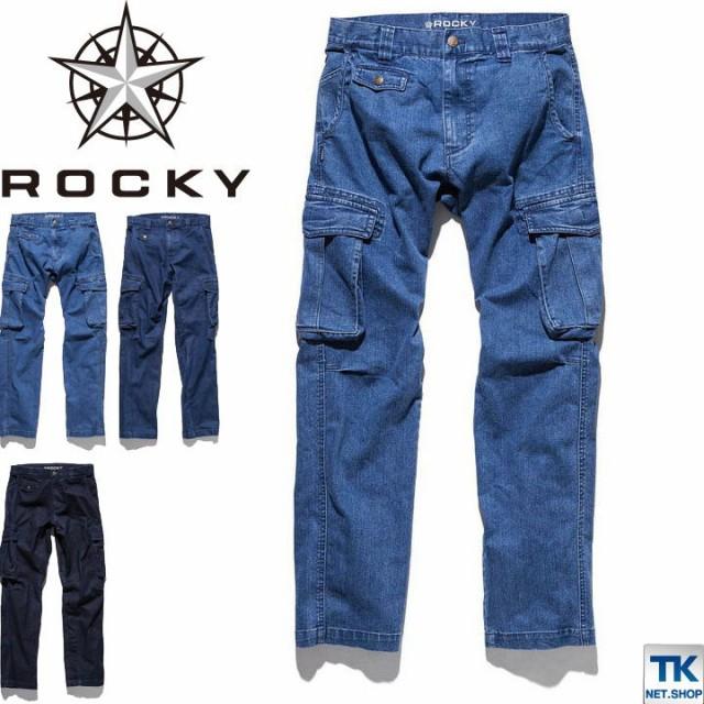ROCKY デニムカーゴパンツ  ロッキー デニムカー...