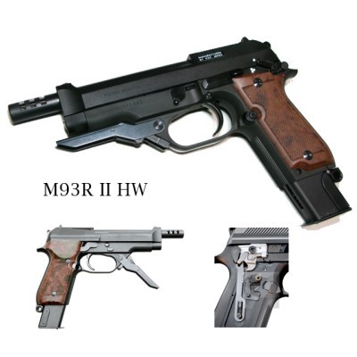 M93R II HW セミ/フル/3バースト 切替 システム7 ...