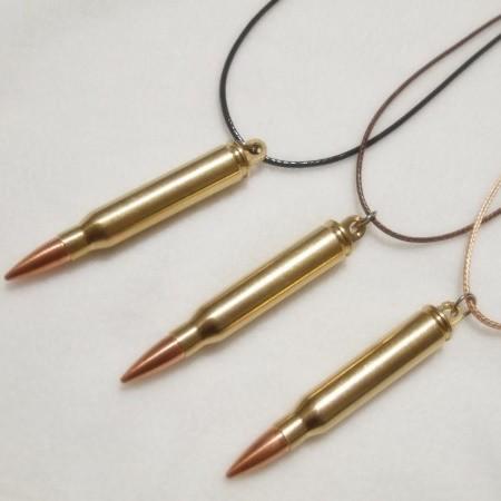 .223REM 5.56mm 弾丸 ブレット チョーカー ペンダ...