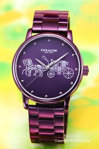 コーチ 腕時計 COACH Grand レディース 14502923