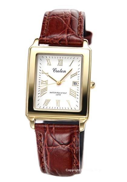 クロトン 時計 スクエア CROTON メンズ 腕時計 RT...