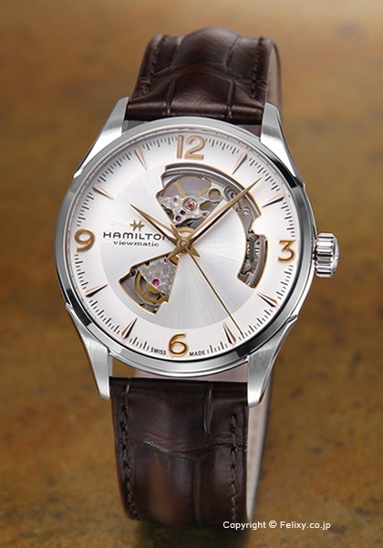 ハミルトン HAMILTON 腕時計 Jazzmaster Open Hea...
