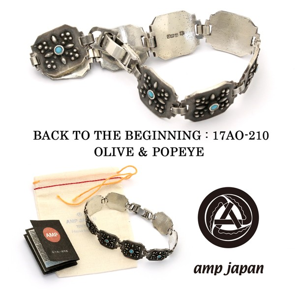 amp japan アンプジャパン プレート ブレスレット...