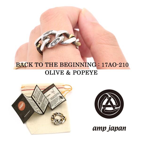 amp japan アンプジャパン チェーンリング 喜平 ...