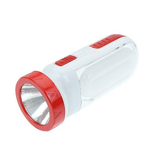 ソーラー充電式 2WAY ライト 掛け型 レッド