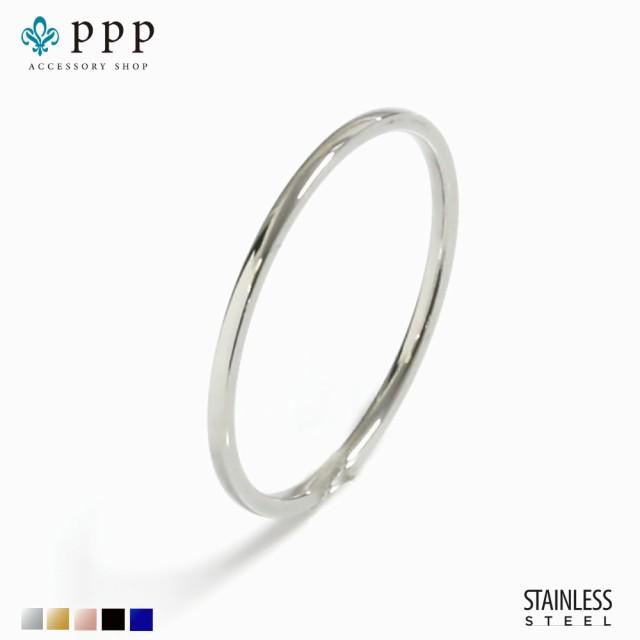 ステンレス リング(94)極細 銀色 (メイン) 指輪 ...