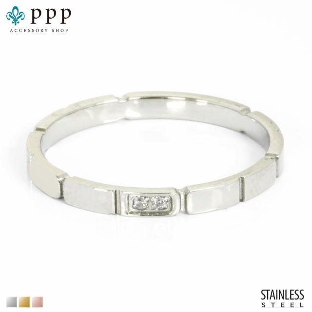 ステンレス リング(149)CZ 銀色(メイン) 指輪 金...