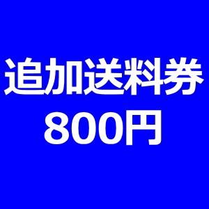 追加送料券800円