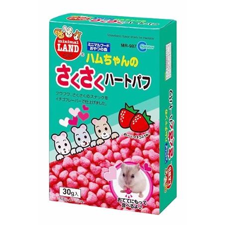 マルカン ハムちゃんのさくさくハートパフ 30...