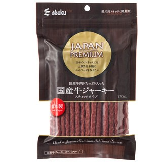 アスク JAPAN PREMIUM 国産牛ジャーキースティ...