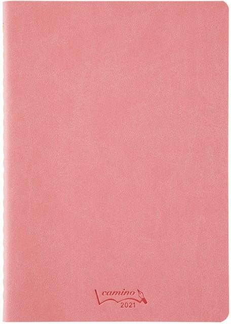 キョクトウ 手帳 2021年 10月始まり camino B6 マンスリー ピンク PBF90P21 手帳 ビジネス 新学期 【メール便OK】