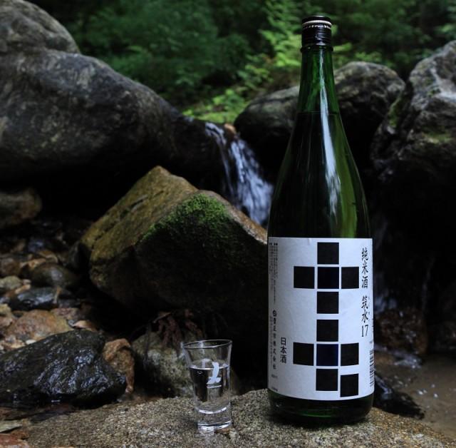 純米酒 筑水17 1800ml 清酒 70% 17度