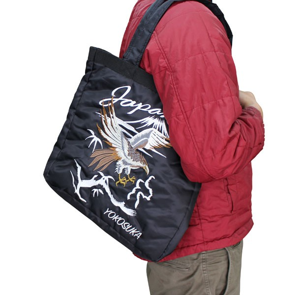 【37341C】【和柄 バッグ】和柄刺繍トートバッグ ...