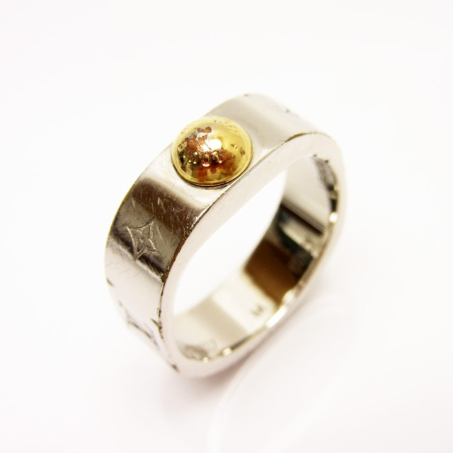 【定番人気】【中古】ルイヴィトン 指輪 リング ...