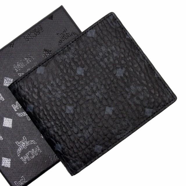 【新品同様】【中古】エムシーエム 二つ折り財布 ...