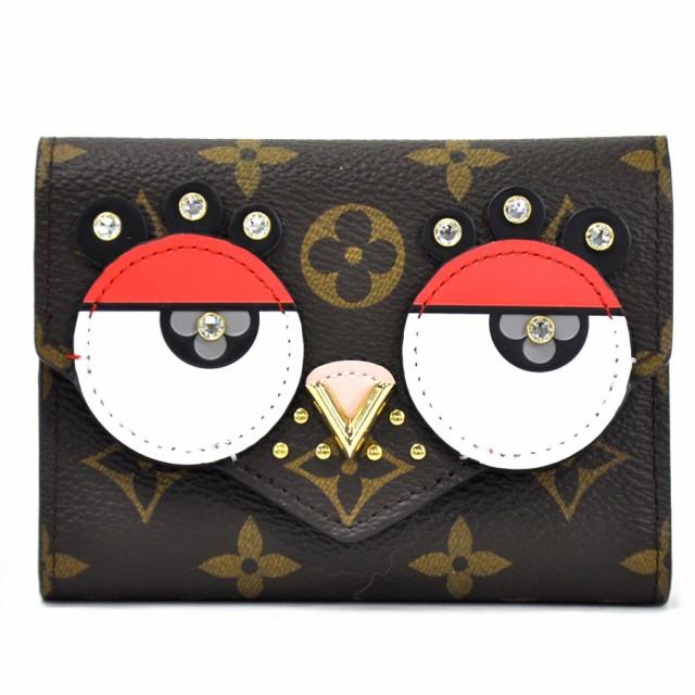【新品同様】【中古】ルイヴィトン 三つ折り財布 ...