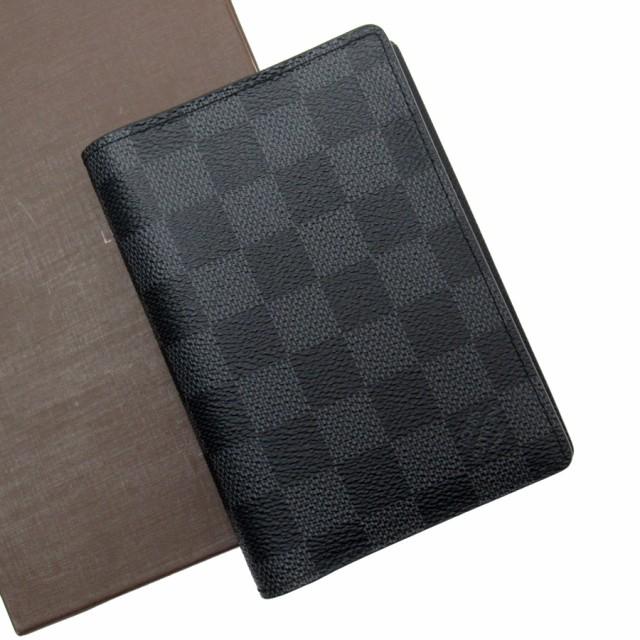new arrival 26c77 c12f6 【おすすめ】【中古】ルイヴィトン 二つ折り財布 ダミエグラフィット レディース メンズ グラフィット h21961