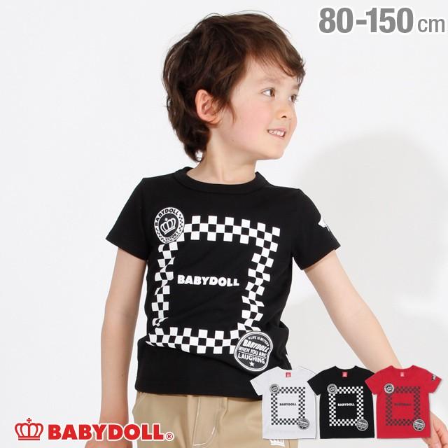 SALE 50%OFF チェッカーロゴ Tシャツ 2537K ベビ...