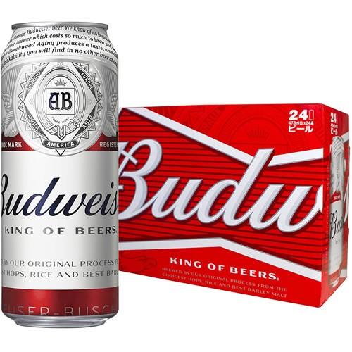 訳あり ケース売り バドワイザー Budweiser 473ml...