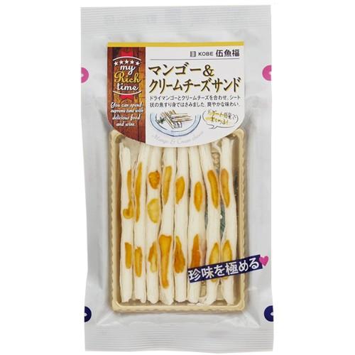 伍魚福 マンゴー&クリームチーズサンド 50g おつ...
