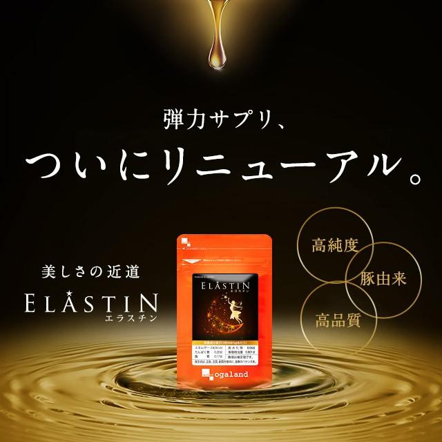 エラスチン(約1ヶ月分) 弾力 美容 ヒアルロン酸 ...