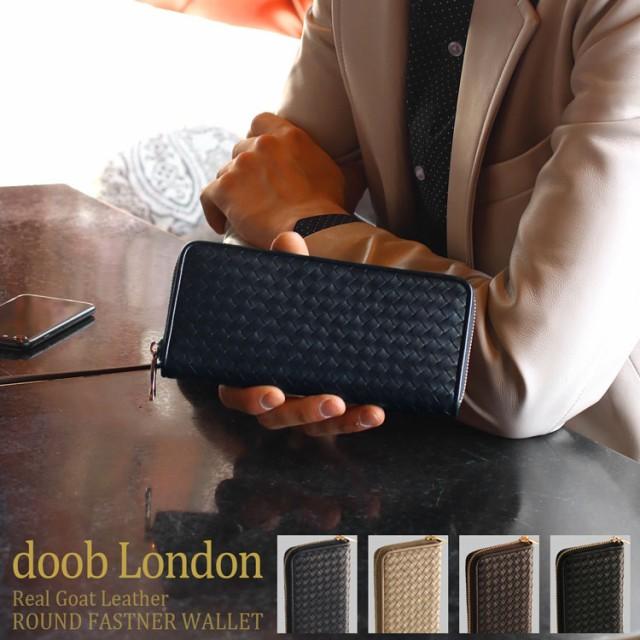 [doob London] ドゥーブロンドン 本革 長財布 イ...