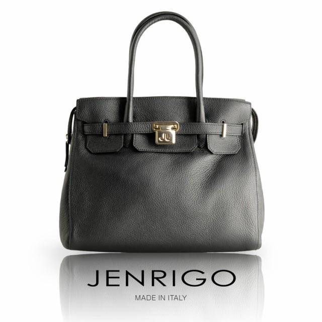 [JENRIGO] ジェンリゴ 牛革 トート バッグ ゴール...