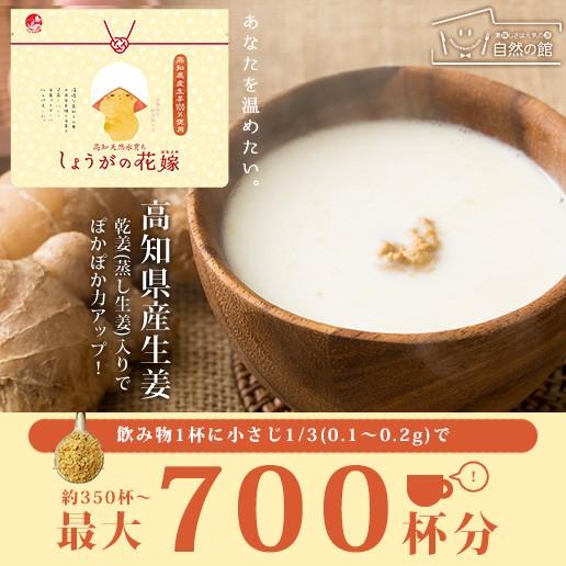 送料無料 高知県産生姜100% 生姜パウダー70g しょ...