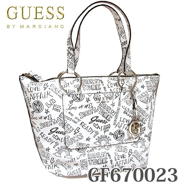 GUESS/ゲス Circlewood SALLY グラフィティ ロゴ ...