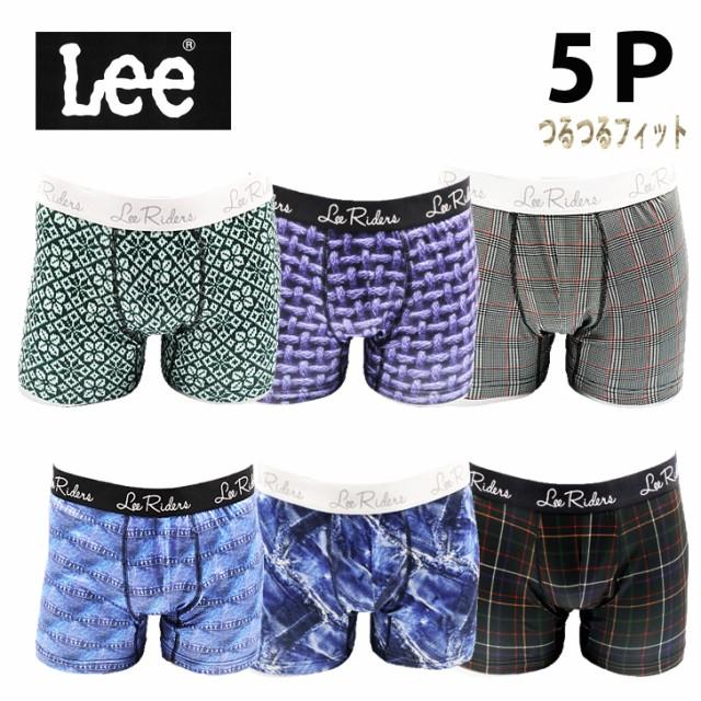 Lee 5枚組 ボクサーパンツ福袋 送料無料
