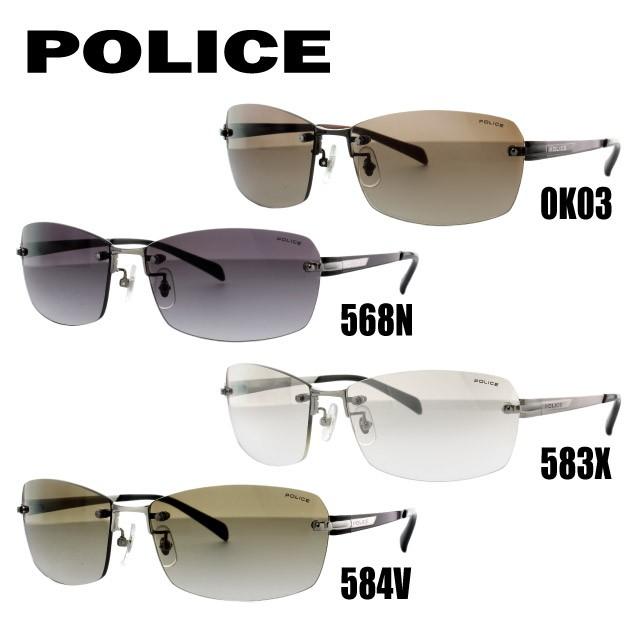 送料無料 ポリス サングラス POLICE 国内正規品 SPL269J 0K03/568N/583X/584V 60 アジアンフィット UVカット UVカット