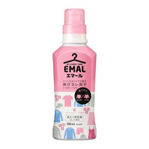 エマール 洗濯洗剤 アロマティックブーケの香り 本体(500ml)[ドライ用・ウール用洗剤]
