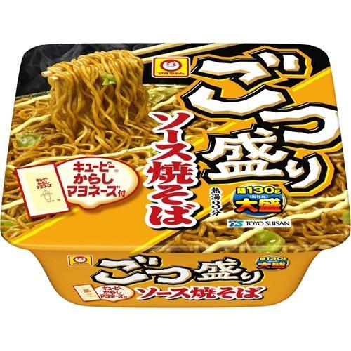 マルちゃん ごつ盛り ソース焼そば ケース(171g*12個入)[カップ麺]