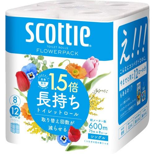 スコッティ フラワーパック 1.5倍長持ち トイレッ...