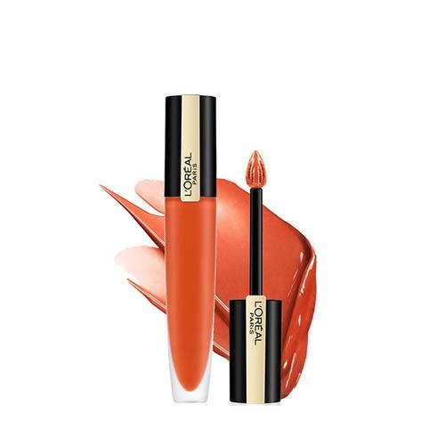 ロレアル パリ ルージュシグネチャー 112 オレンジブラウン マット リキッド リップ(7ml)[リップカラー]