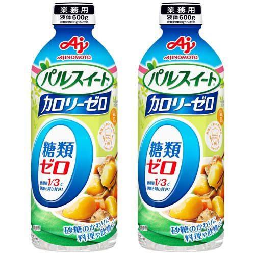 パルスイート カロリーゼロ ボトル(600g*2本セッ...