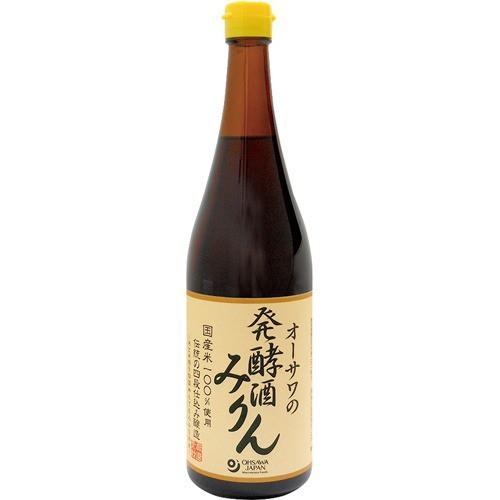オーサワの発酵酒みりん(720ml)[みりん風調味料]
