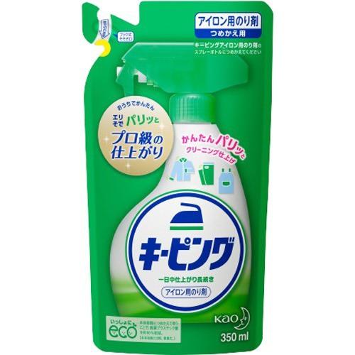 アイロン用キーピング 洗濯のり 詰め替え(350ml)[...