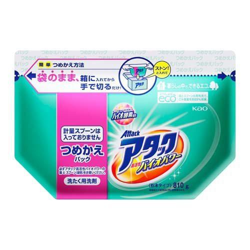アタック バイオEX 粉末 洗濯洗剤 詰め替え(810g)...