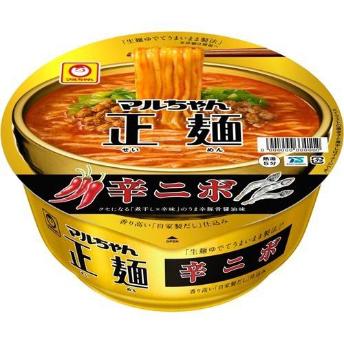 マルちゃん正麺 カップ 辛ニボ ケース(122g*12個入)[インスタント食品 その他]